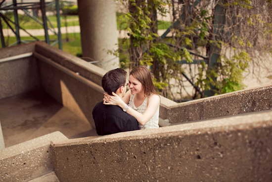 Allison + Kyle : Dallas, Texas Engagement