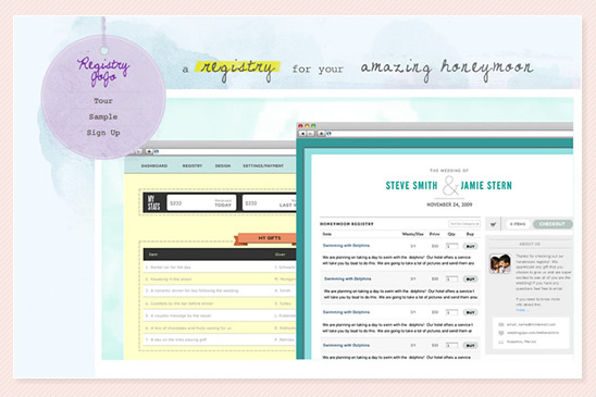 Customized Wedding Websites From Wedding JoJo