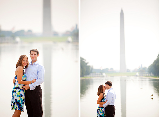 Jennifer & Dan - A DC Monuments Engagement Session