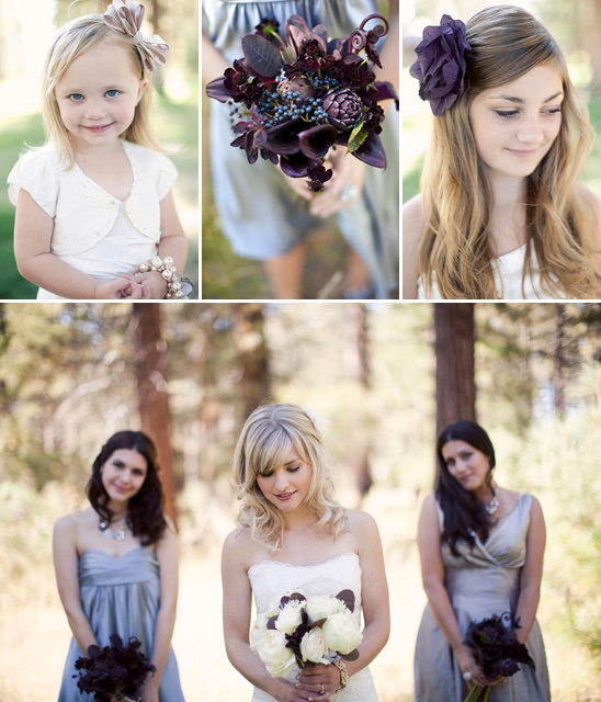 Stylish Lake Tahoe Wedding