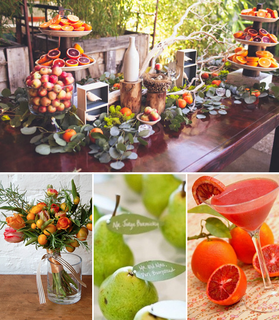 Fruit Wedding Ideas