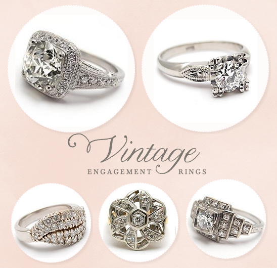 Vintage & Antique Engagement Rings From EraGem