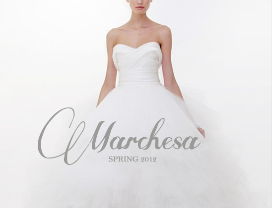 Marchesa Bridal Spring 2012