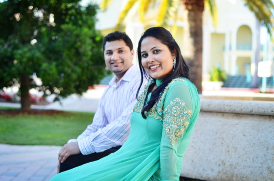 South Florida Photographer: Tasleem + Errol {Engagement}