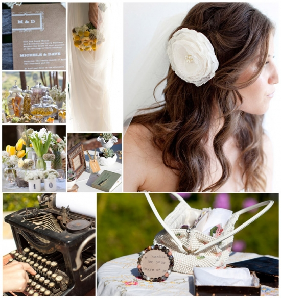 I Do Venues Design Inspiration: Vintage Details