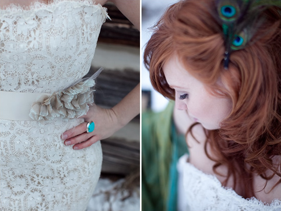 Winter Vintage Chic Wedding Shoot