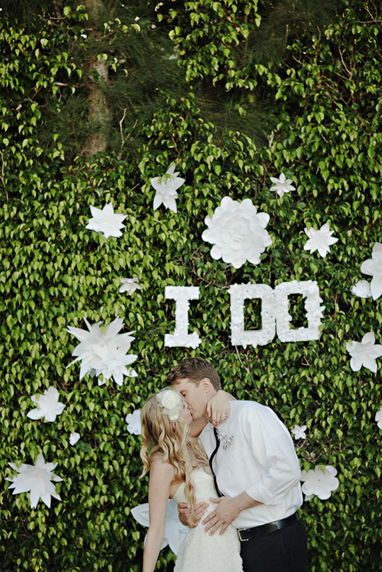 Backyard Glam Wedding