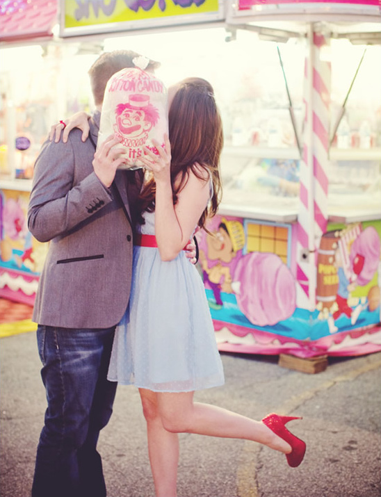 Carnival Meets Wizard of Oz Engagement Shoot