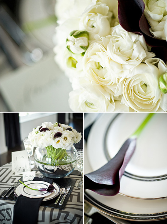 Elegant Black & White Wedding Ideas