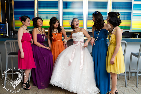 Michi & Simma's Quirky Colorful Spring Wedding