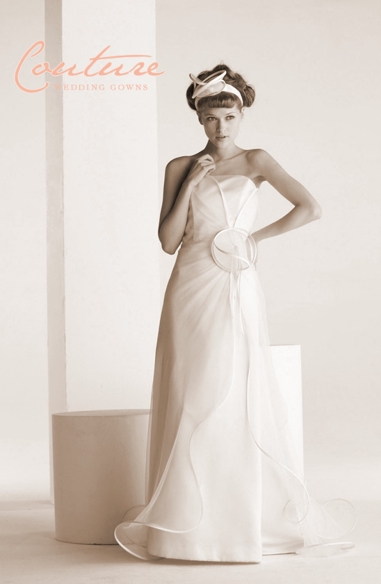 Haute Couture Wedding Gowns By Suzanne Ermann