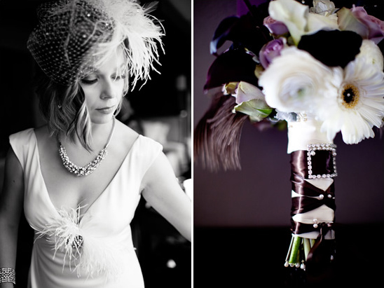 Art Deco Wedding by Megan Ann Photography