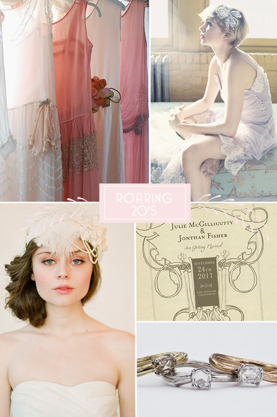 Roaring 20's Wedding Inspiration