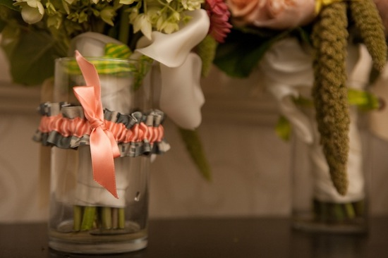 trendy-pink-gray-wedding-garter