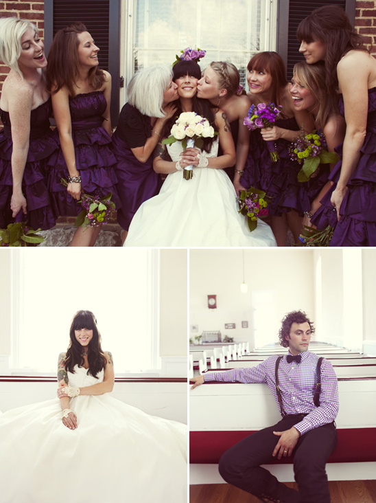 Southern Vintage Wedding by Alysse Gafkjen Photography