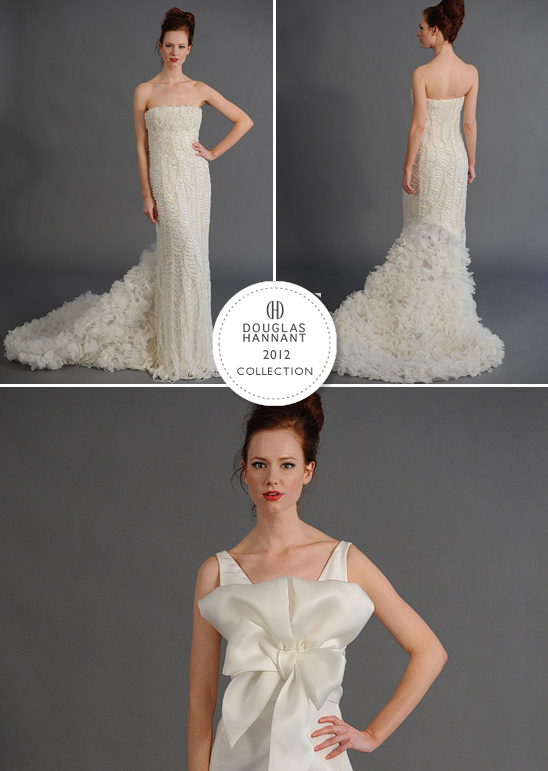 Douglas Hannant Spring 2012 Bridal Collection