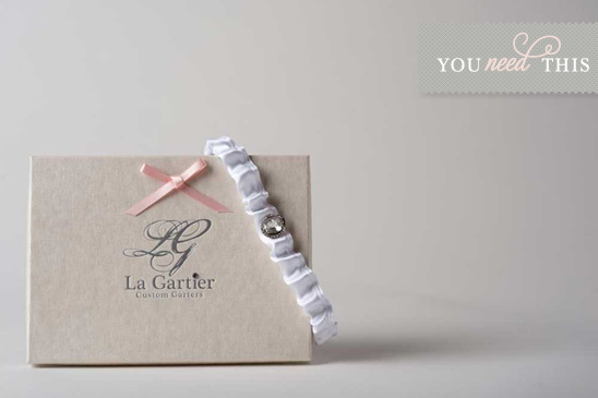 Custom Wedding Garters From La Gartier