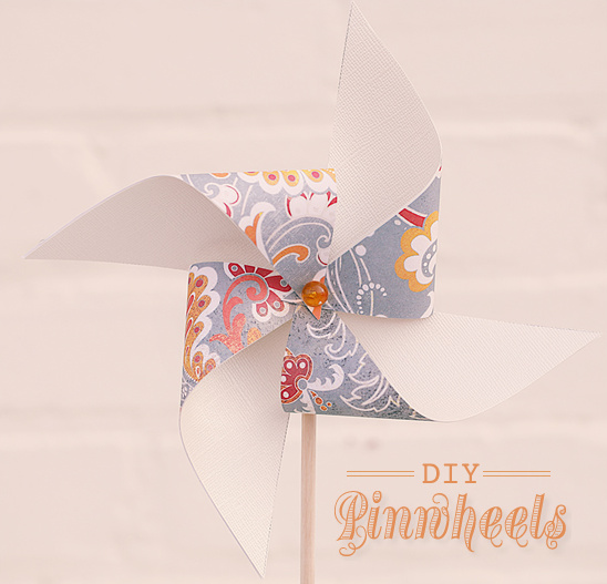 Do It Yourself Wedding Pinwheels