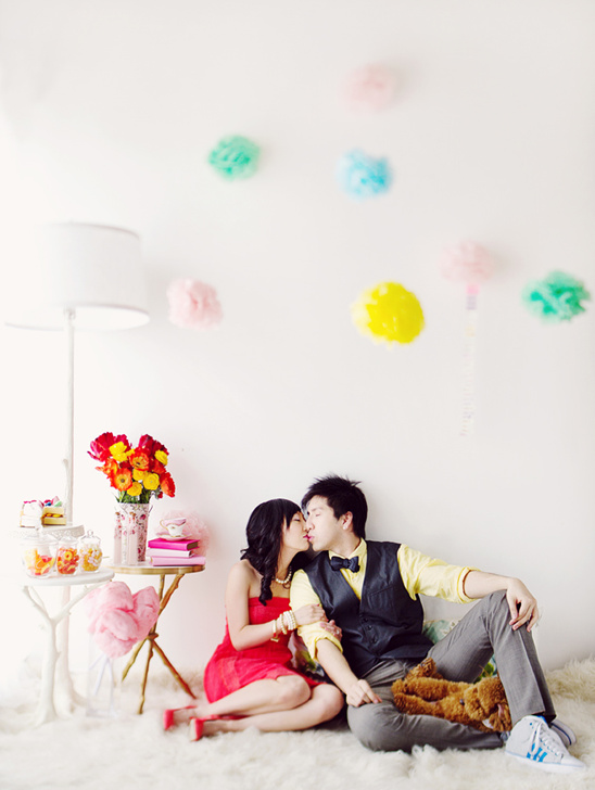 Scandalously Cute Engagement Session