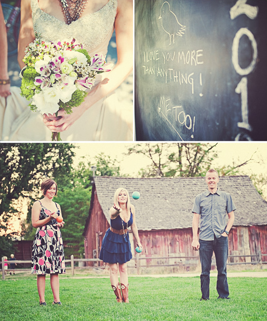 DIY Idaho Barn Yard Wedding