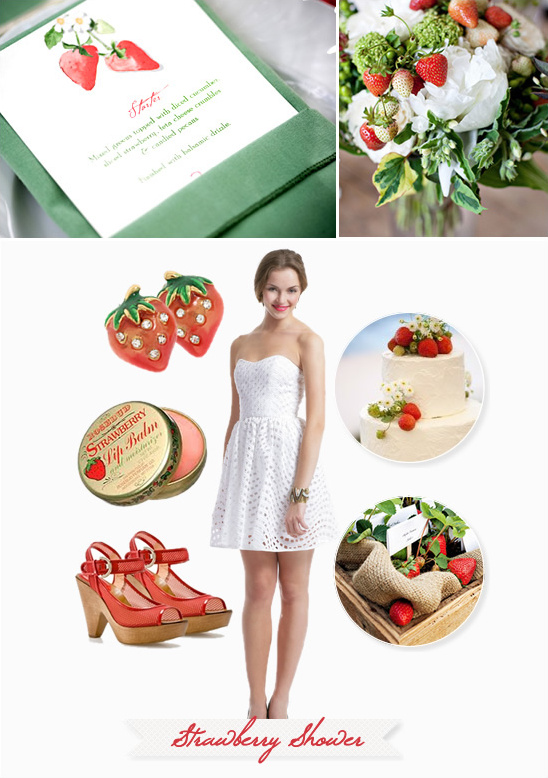 Strawberry Bridal Shower Ideas