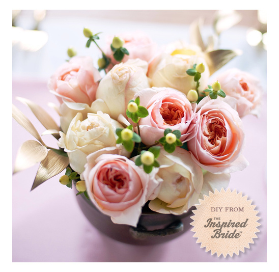 Garden Rose Do It Yourself Centerpiece
