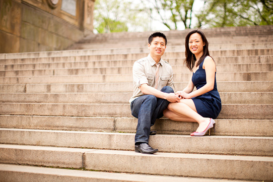 Vicky & Shyan - New York City Engagement Session