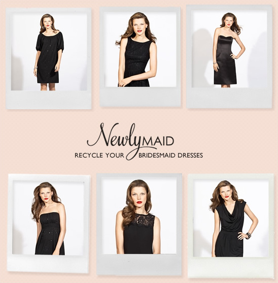 Recycle Your Bridesmaid Dresses With NewlyMaid