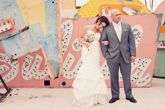 Vegas Wedding From White Haute Photography