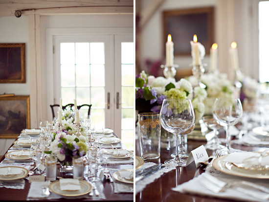A Stylish and Intimate Wedding