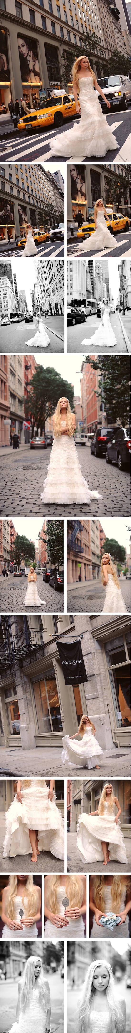 Bridal Shooting in Manhattan | NYC