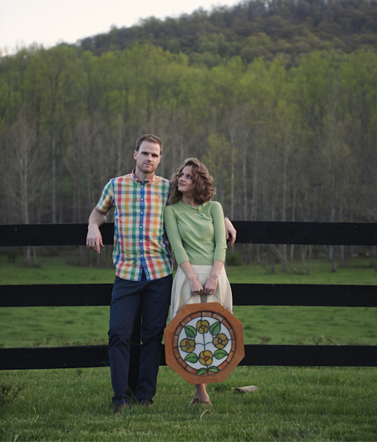 Virginia Countryside Engagement From Live It Out Photo