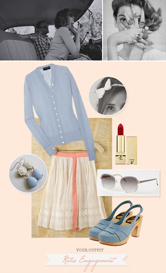 Engagement Retro Outfit Ideas
