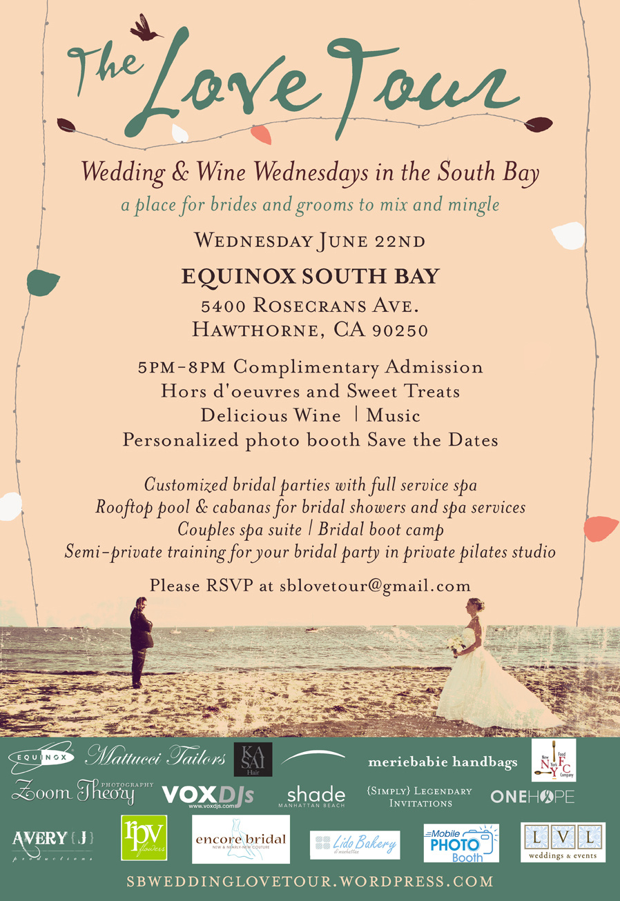 The Love Tour Wedding & Wine Wednesdays