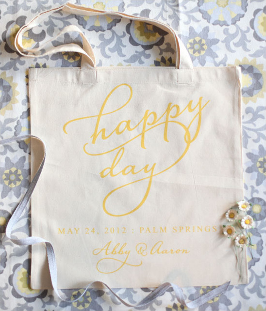 How To Make A Welcome Wedding Tote