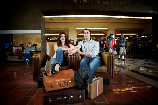 Ashley & Ken | Union Station Engagement