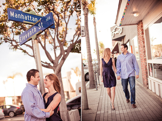 Engagement Session - Manhattan Beach, CA [Dave Richards Photography]