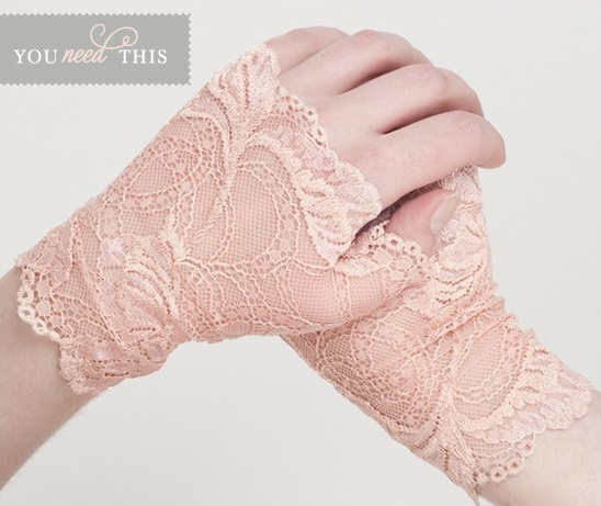 You Need This | Lace Fingerless Gloves