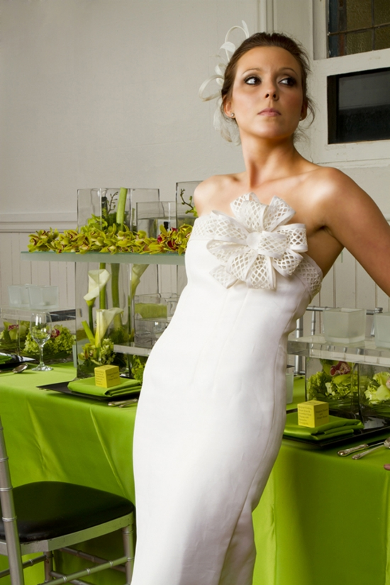 Wedding Gown redesigned from an out-of-date gown by The Bride's Project