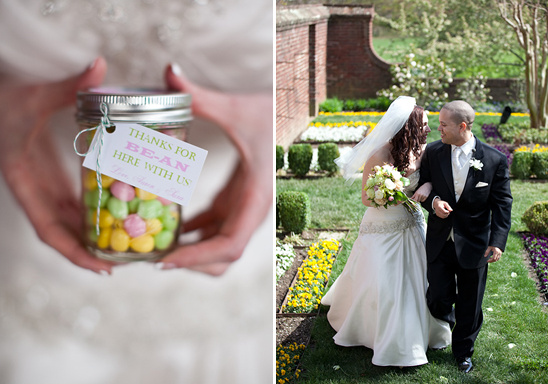 A Maryland Pink And Green Garden Wedding
