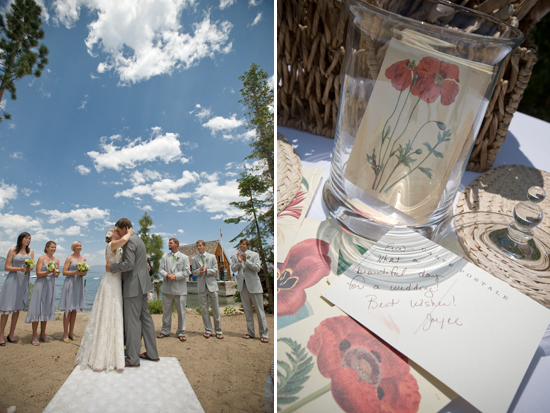 Lake Tahoe Vintage wedding - Photography by Monique