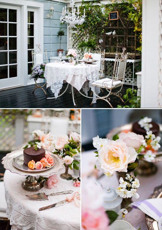 Elegant Backyard Garden Wedding By Michelle Warren Photography