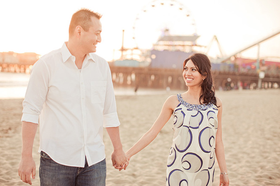 Santa Monica Engagement [Dave Richards Photography]