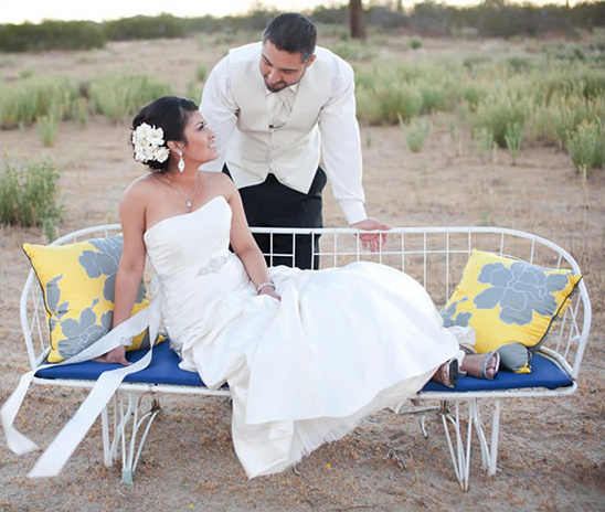 Palm Springs Wedding Ideas + Win The Earrings From The Shoot