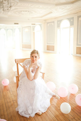 Bridal Ballet Shoot by Love by Serena