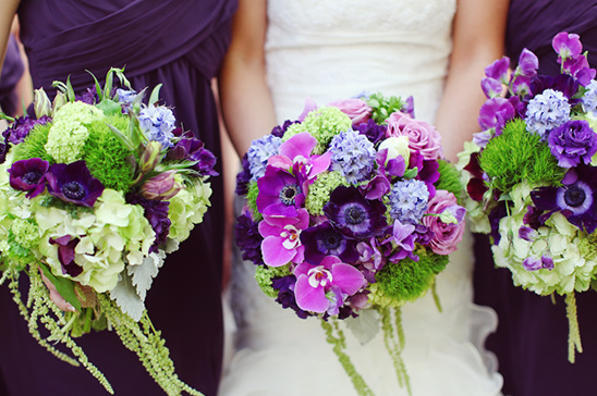Vintage romantic purple green wedding junglespirit Choice Image