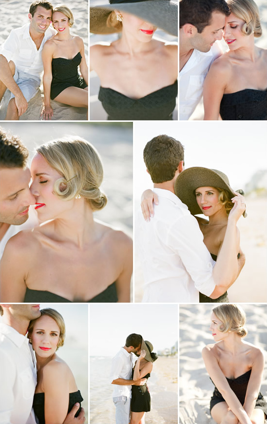 1950's Inspired Wedding Engagement