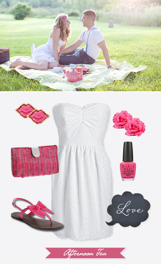 Afternoon Tea Engagement Outfit Ideas