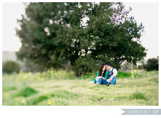 Orange County Engagement Session in the Flower Fields, by Chenin Boutwell
