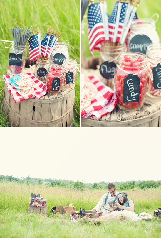 4th of July Engagement Shoot by Shelby Street Photography